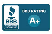 Better Business Bureau A-Plus Certified